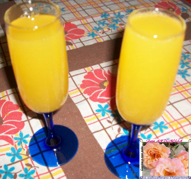 Cocktail Mimosa ricetta aperitivo fata antonella