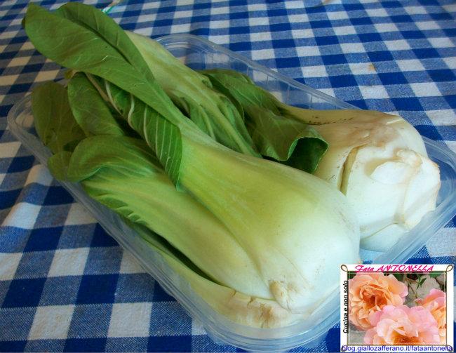 Pack Choi Stufati ricetta internazionale fata antonella