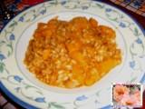 risotto con zucca ricetta invernale fata antonella