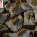 Tartine formaggio e noci ricetta finger-food fata antonella