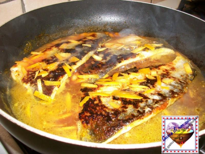 Filetti di branzino alla arancia ricetta raffinata fata antonella