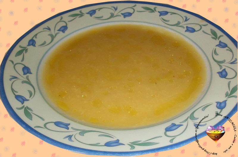 crema di ceci e porri ricetta fata antonella