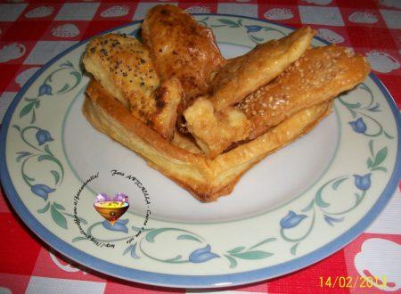 Vol-au-vent e salatini, ricetta base