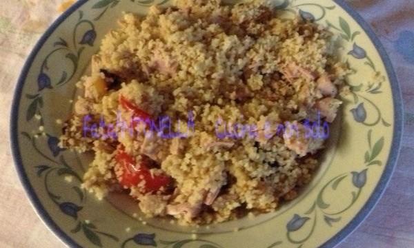 Insalata di couscous, ricetta estiva