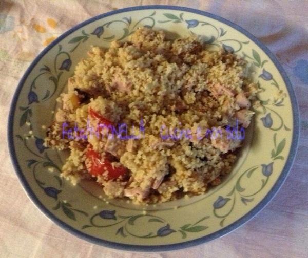 Insalata di couscous ricetta estiva fataantonella