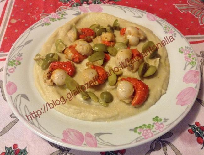 Sedano Rapa con Canestrelli ricetta raffinata fataantonella