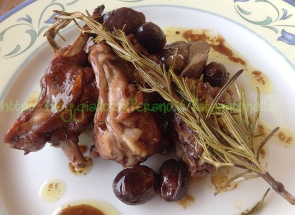 coniglio alla ligure ricetta fataantonella