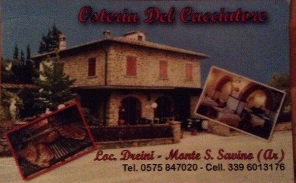 Osteria del Cacciatore Monte San Savino-Arezzo-Toscana