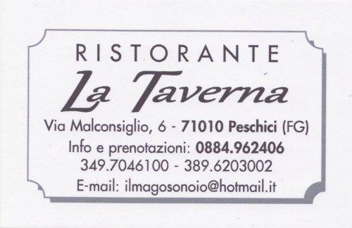 """Ristorante """"La-Taverna"""" Peschici-Foggia-Puglia"""