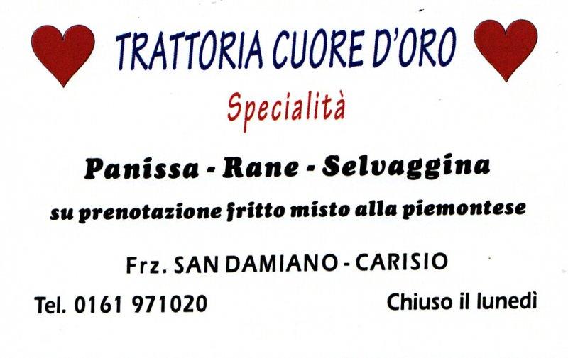 Trattoria-Specialità-Rane San Damiano-Biella-Piemonte