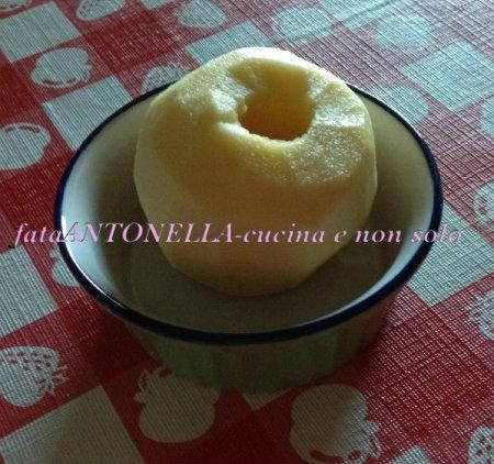 Mela al microonde ricetta veloce fataantonella