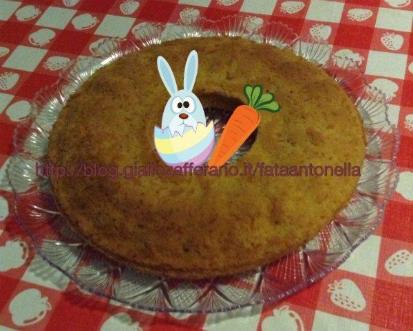 Ciambella alle carote ricetta per celiaci fata antonella