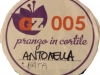 Raduno GZ numero del piatto FataANTONELLA