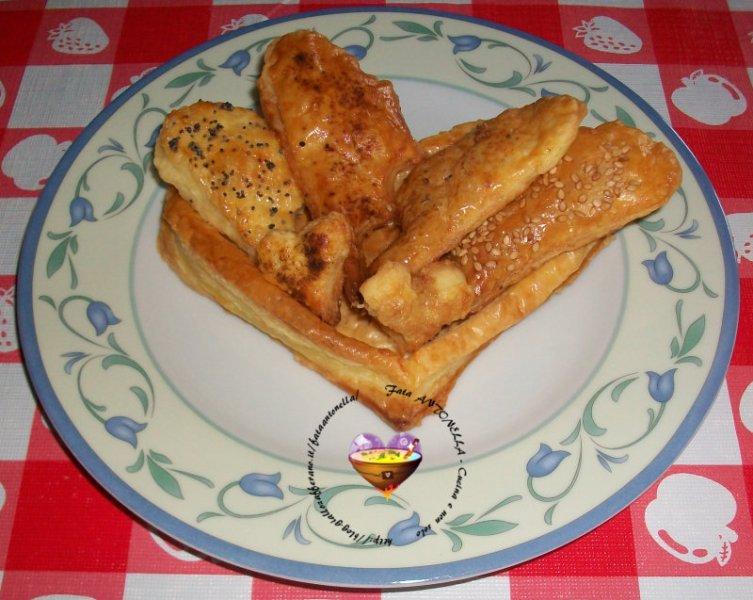 Vol-au-vent e salatini ricetta base fata antonella