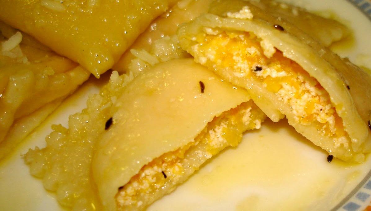 Ricetta Ravioli Alla Zucca.Ravioli Di Zucca Con Pancetta Affumicata Pecorino O In Brodo