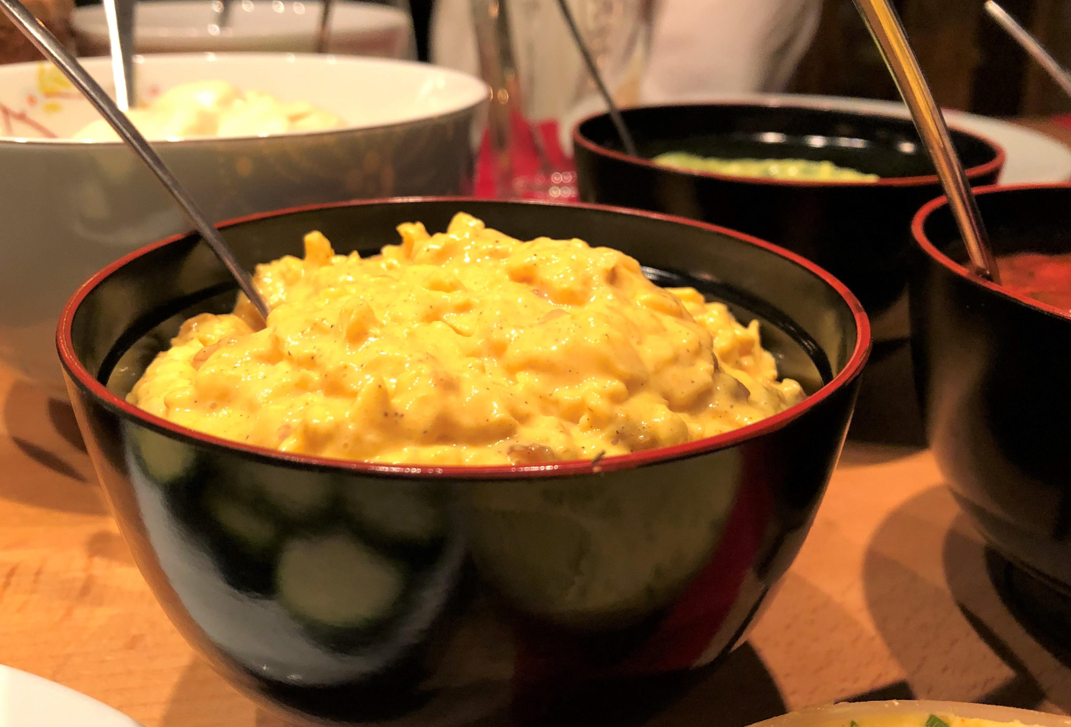 crema di mela e curry