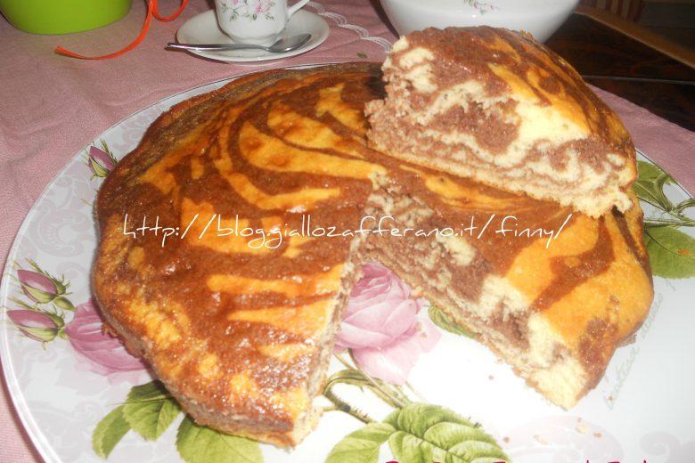 torta bianco e cioccolato