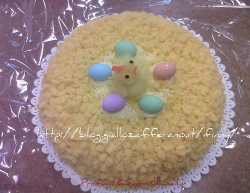 torta mimosa per Pasqua