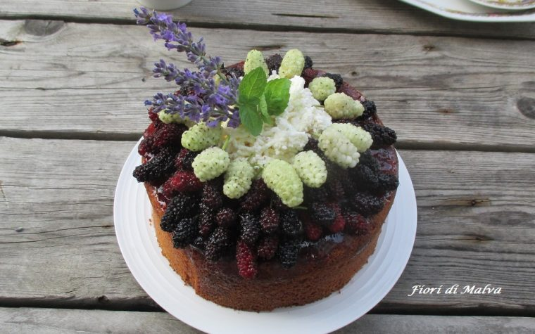 POKE CAKE CON MORE DI GELSO