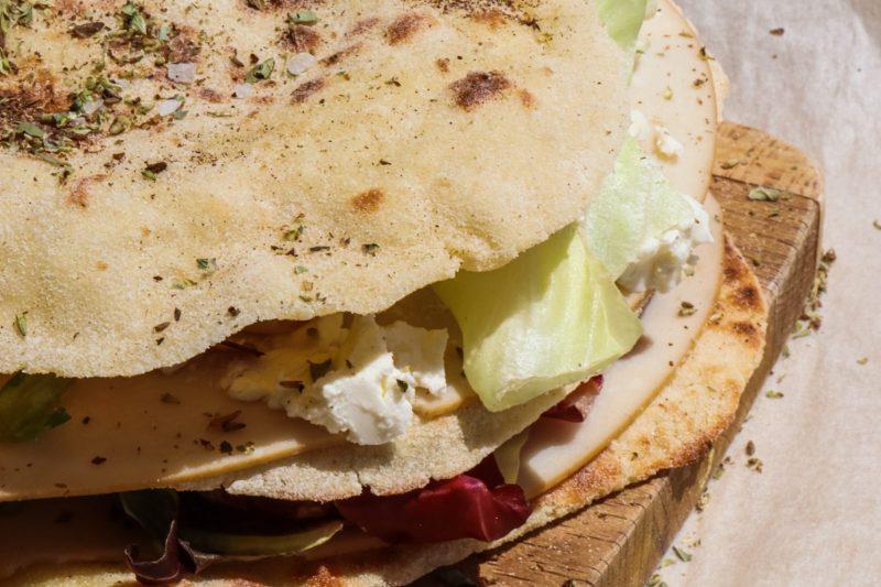 FIT PIADINA gluten free, low carb e con solo 0,5gr di grassi!