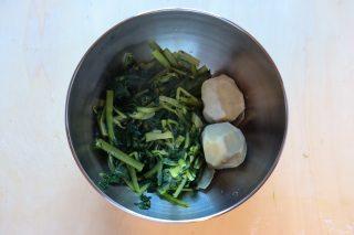 cicoria e patate