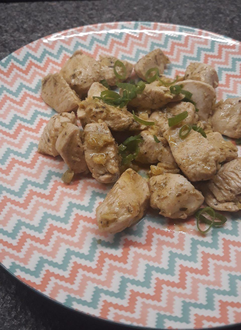 pollo speziato