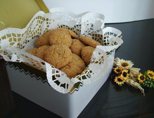 Biscotti ai semi di girasole
