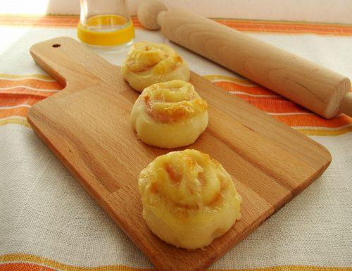 Girandole al prosciutto e formaggio