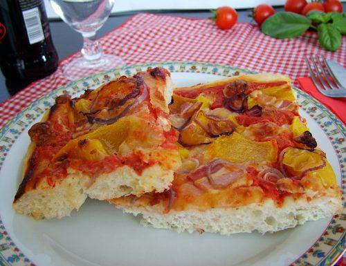 La pizza con lievito madre (passo per passo)
