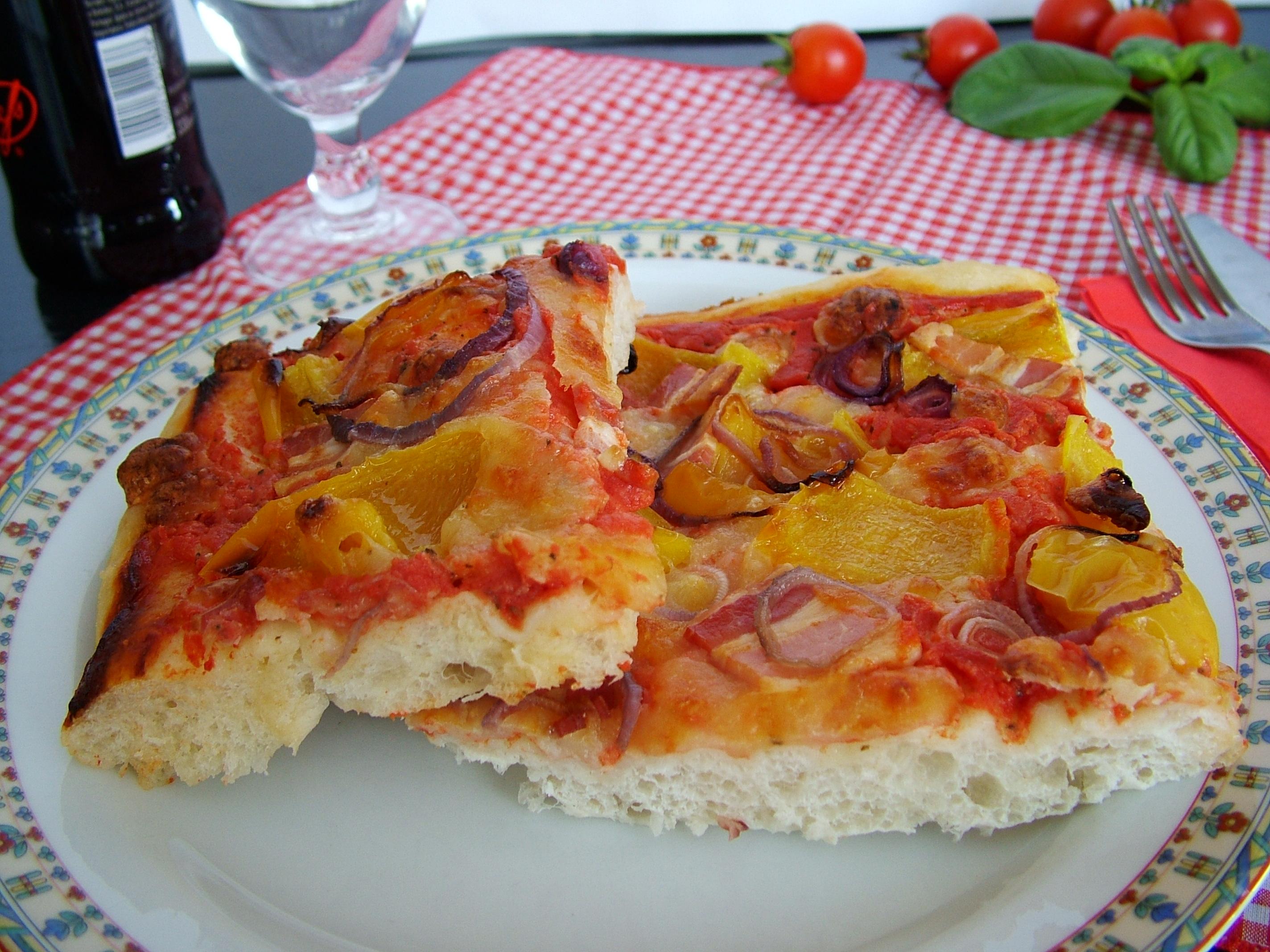 La pizza con lievito madre passo per passo il folletto for Pizza con planetaria