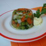Mini aspic di verdure