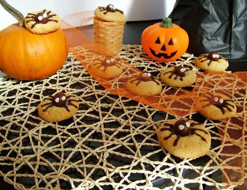 Biscotti ragnetti (idea per Halloween)