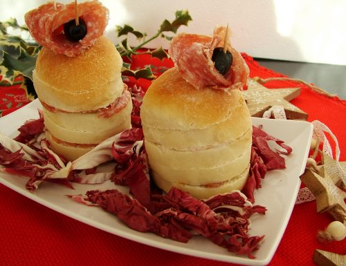 Panettoncini gastronomici monoporzione