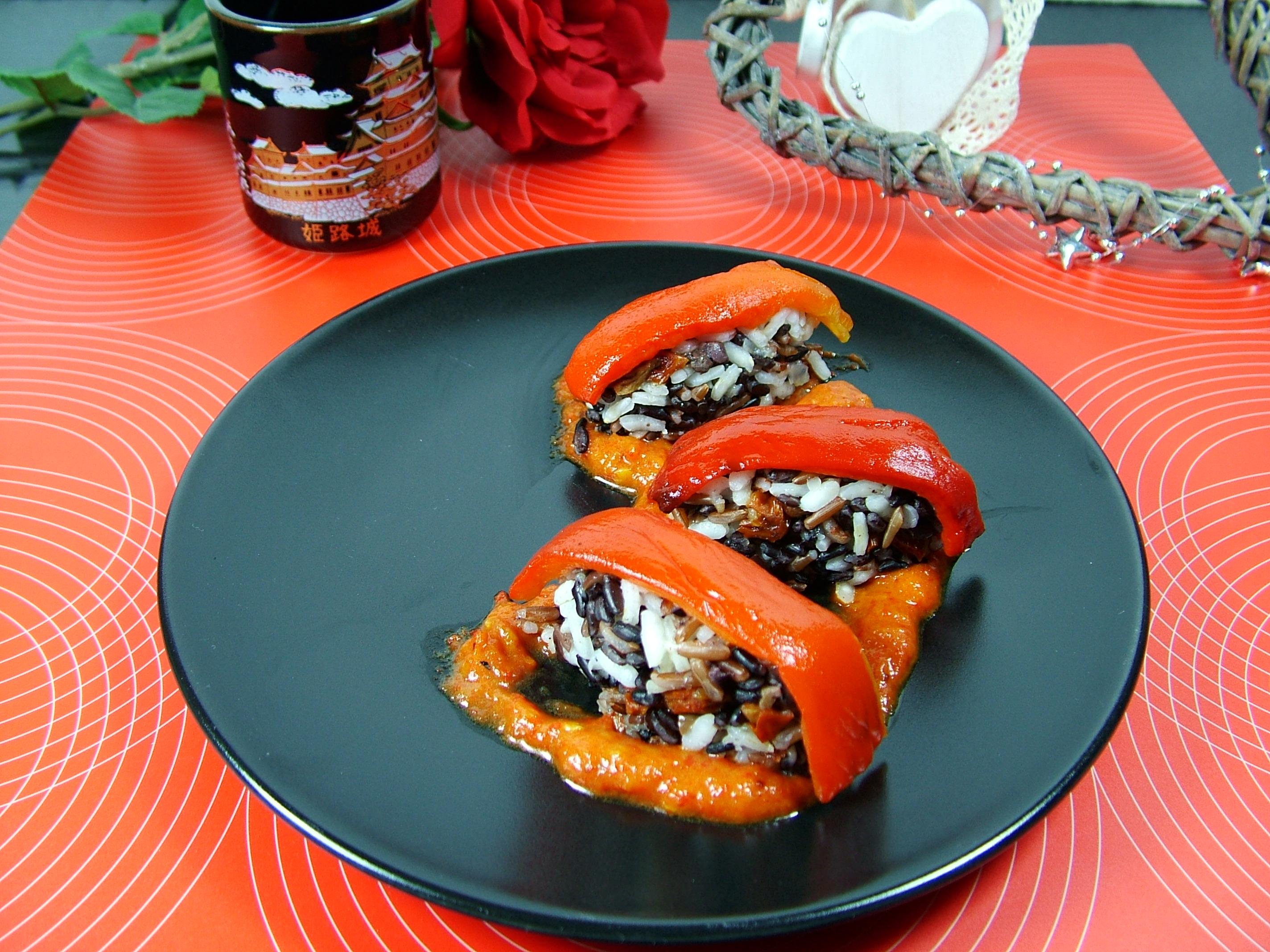 Sushi vegetariano (Idea per antipasto o primo piatto)