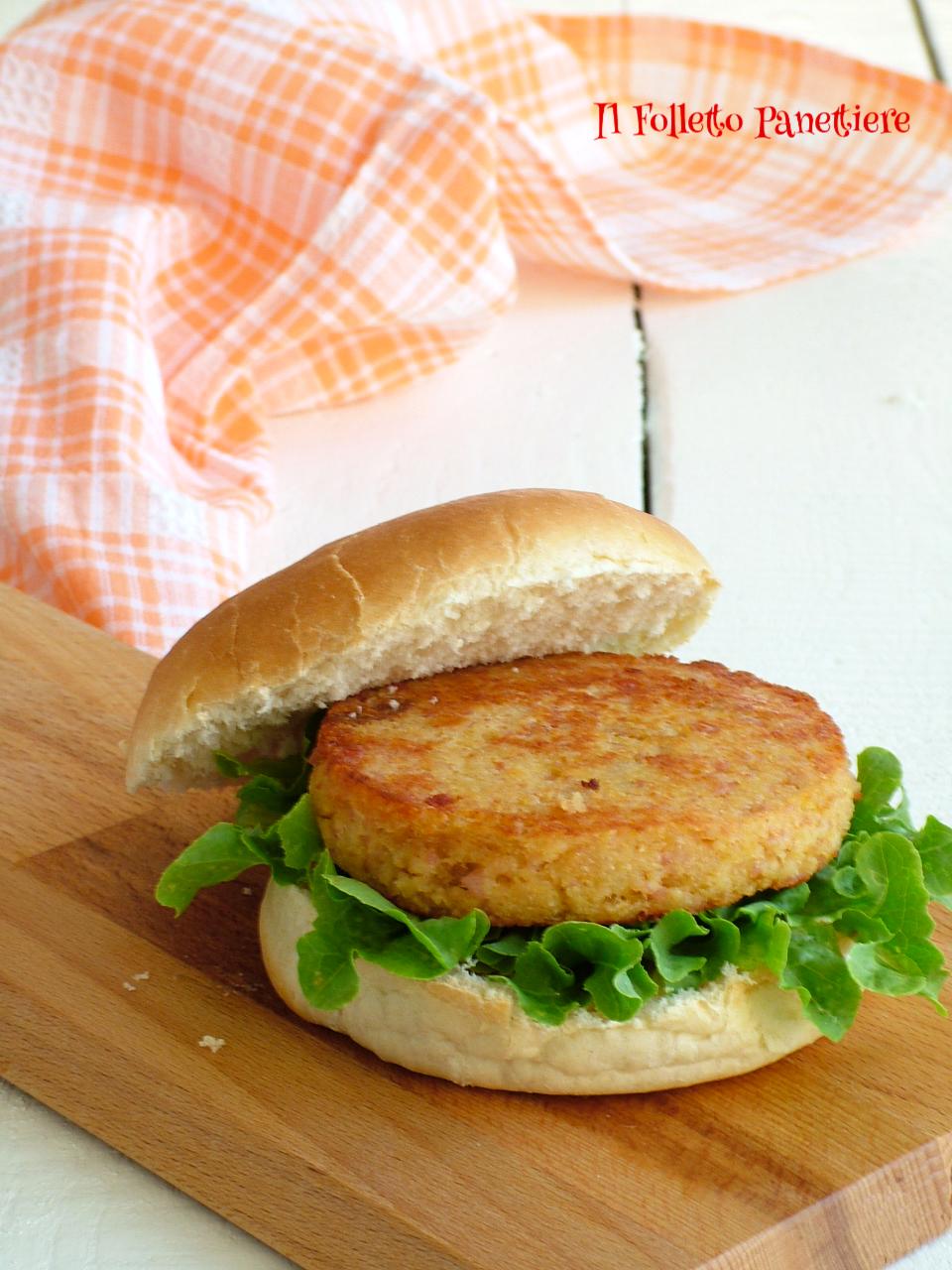 hamburger di prosciutto