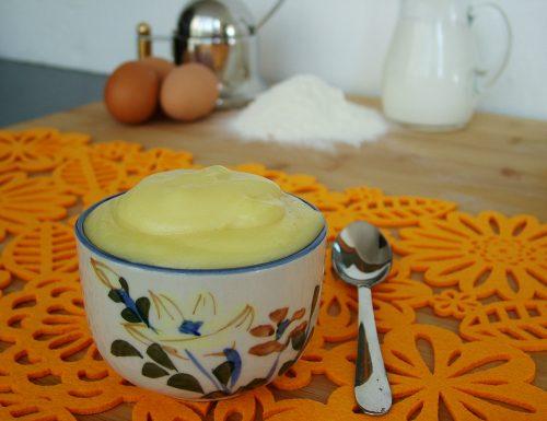 Crema pasticcera leggera e vellutata