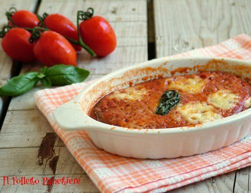 Parmigiana leggera di melanzane grigliate