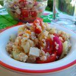 Insalata di quinoa e bulgur *