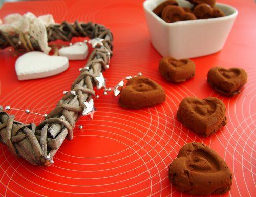Tartufini al cioccolato di San Valentino