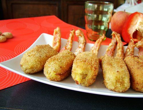 Crocchette di pollo e tacchino alle mele