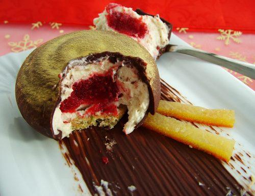 Cremoso al pistacchio con cuore di lampone