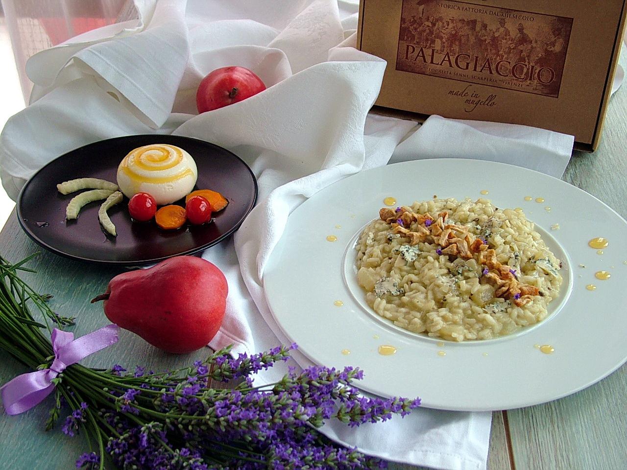 menù per lattidamangiare 5.0 risotto e bavarese