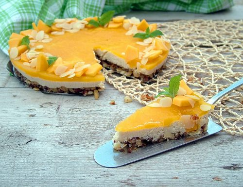 Cheesecake vegan al mango *