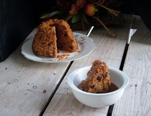 Toffee pudding (pudding con salsa al caramello)
