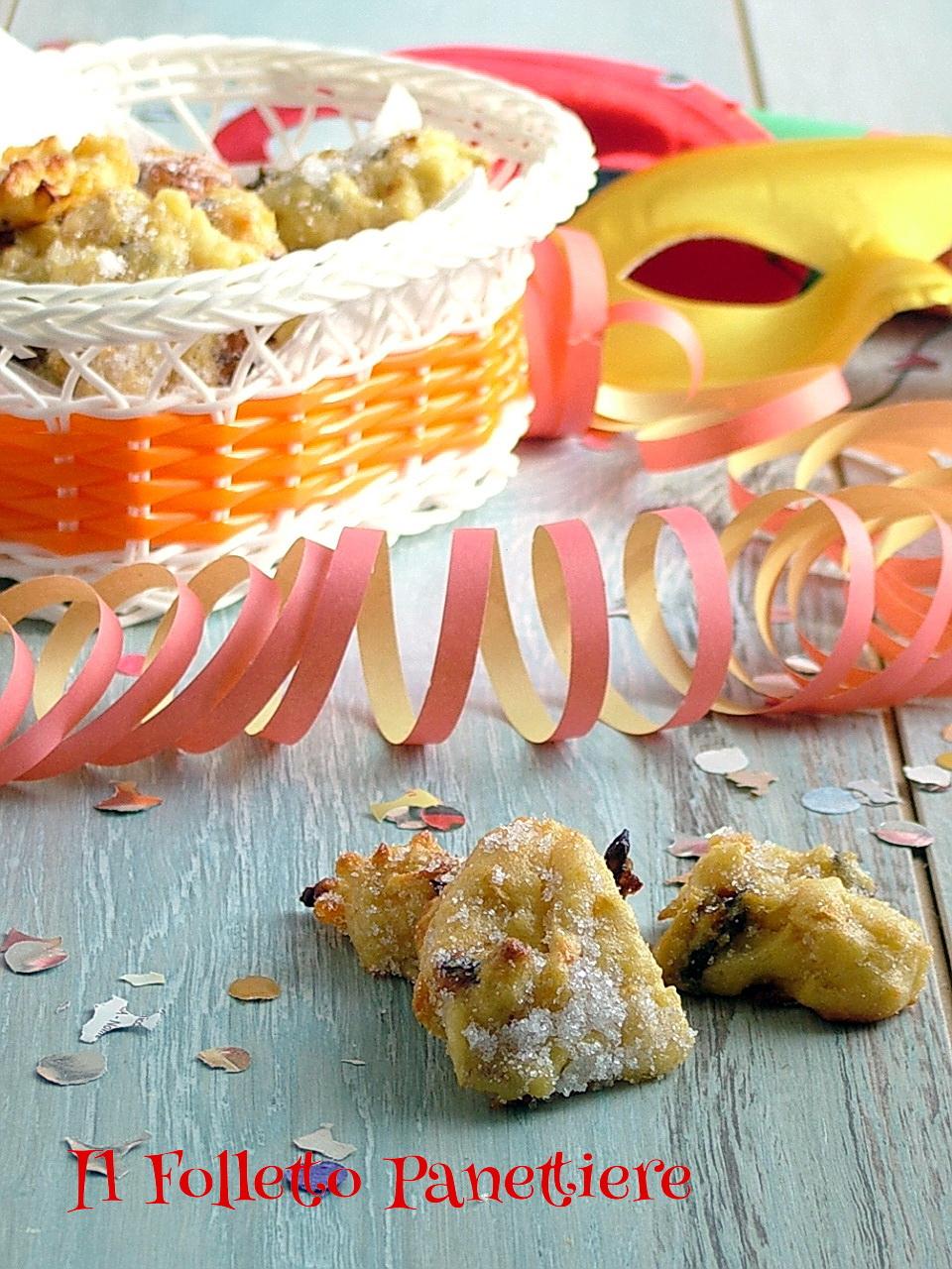 dolci di carnevale non fritti