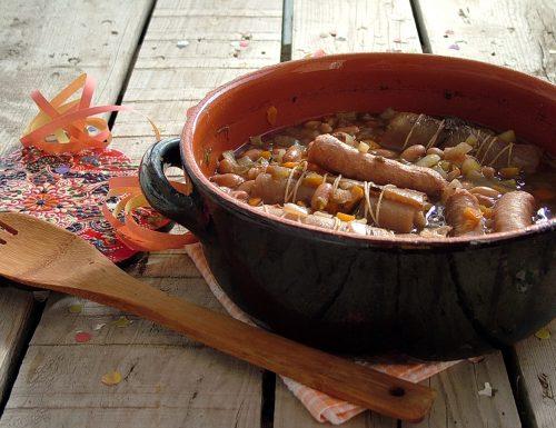Fagioli grassi – zuppa di fagioli tipica del Carnevale in Piemonte