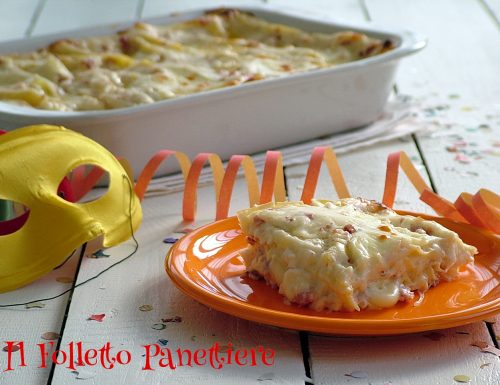 Lasagne di Carnevale – ricetta svuota frigo