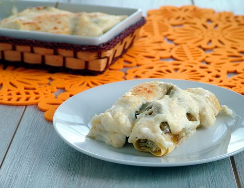 Cannelloni ai carciofi – primo piatto per Pasqua