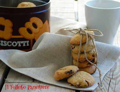 Biscotti di segale all'uvetta