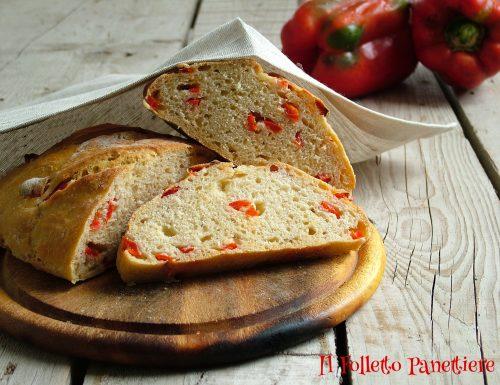 Pane con peperoni